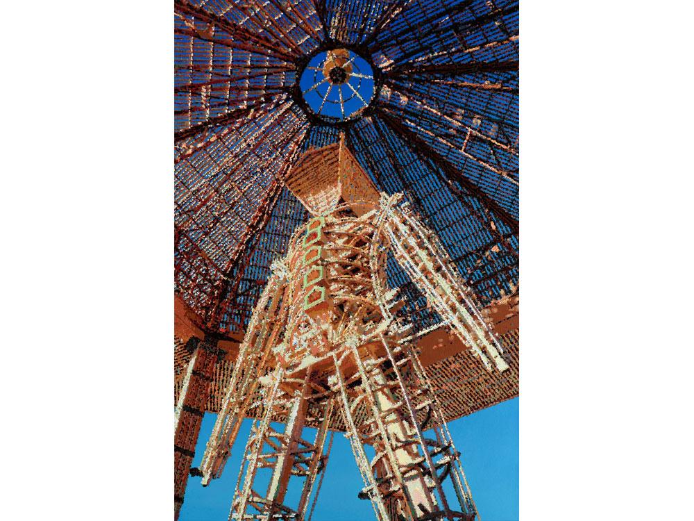 Römer + Römer, Sky above Burning Man